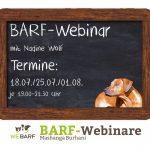 BARF-Webinar Nadine Wolf 2017
